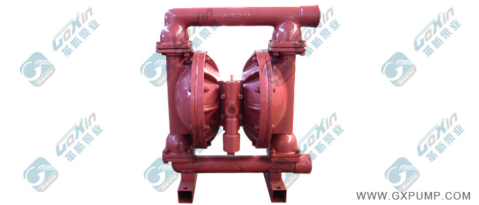 革新牌 QBY 系列铸铁隔膜泵